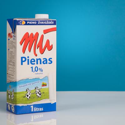 New MU milk packaging