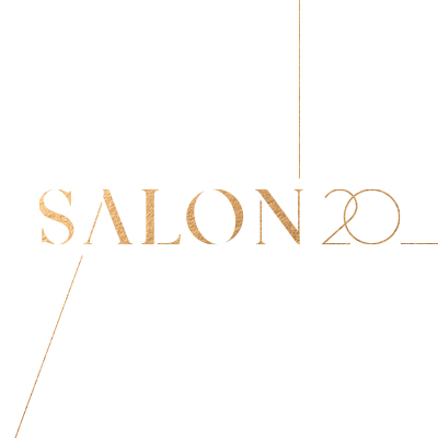 SALON 20 Logo, visual identity & website